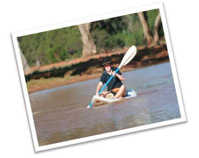 Four Corners Farm Stay - paddle for some exercise